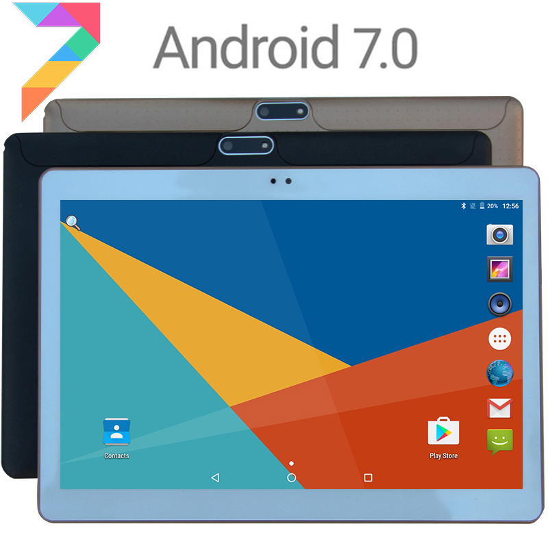 2018 новая модель 10 дюймов Восьмиядерный 3G 4 г LTE Планшеты 4 ГБ Оперативная память 32 ГБ Встроенная память 1280*800 двойной Камера Android 7.0 Планшеты 10.1 дюймов DHL Бесплатная доставка