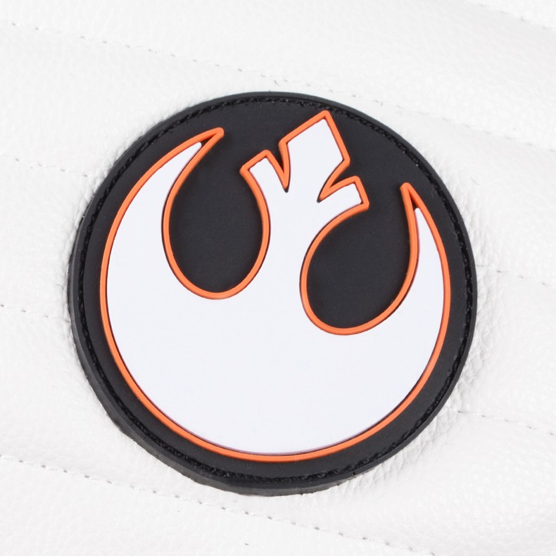 rebel logo attached on star wars the last jedi backpack