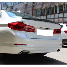 G30 M5 Style Carbon Fiber Deck Lid Spoiler Wing for BMW 5 Series Auto Car Accessories Rear Trunk