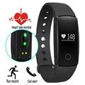 Caliente ID107 Smartband Actividad Rastreador Monitor Cardíaco Frecuencia Cardíaca Inteligente banda vs poco ajuste banda miband 2 mi 1 s fitbits pulsera