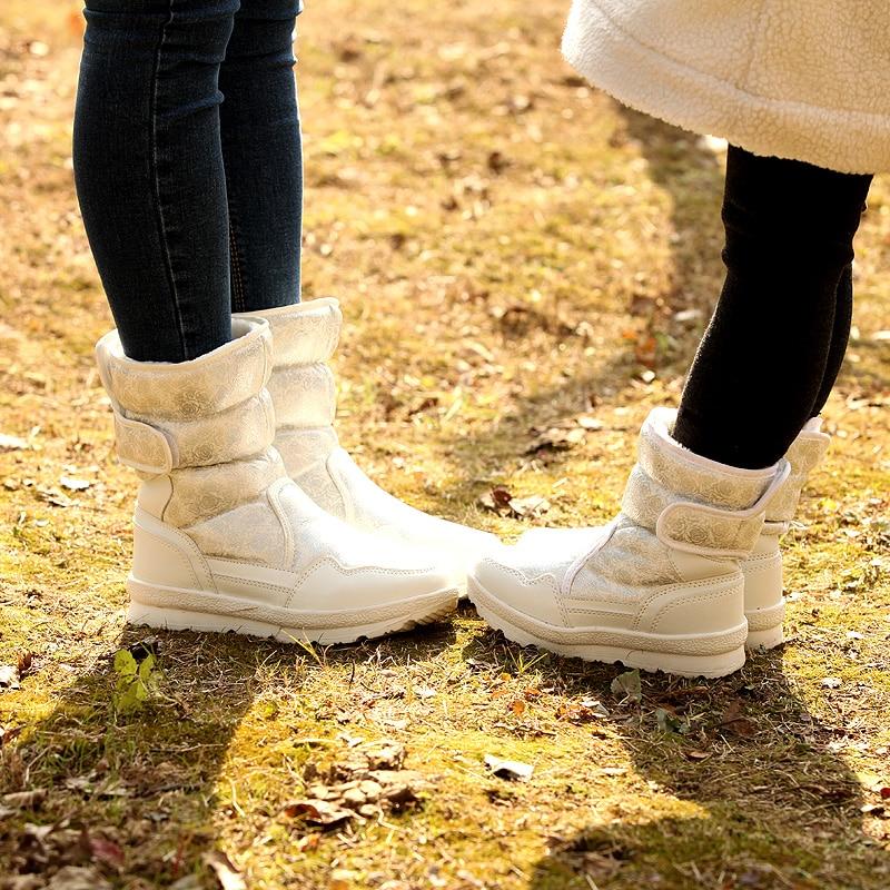 Nueva Primavera Caliente Niños Moda De Modelo Invierno Grueso Zapatos 2018 Antideslizante Cálido Y Los Botas XqxZI5wa
