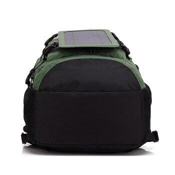 6.5W 5V Solar Panel Backpack Multifunctional  4
