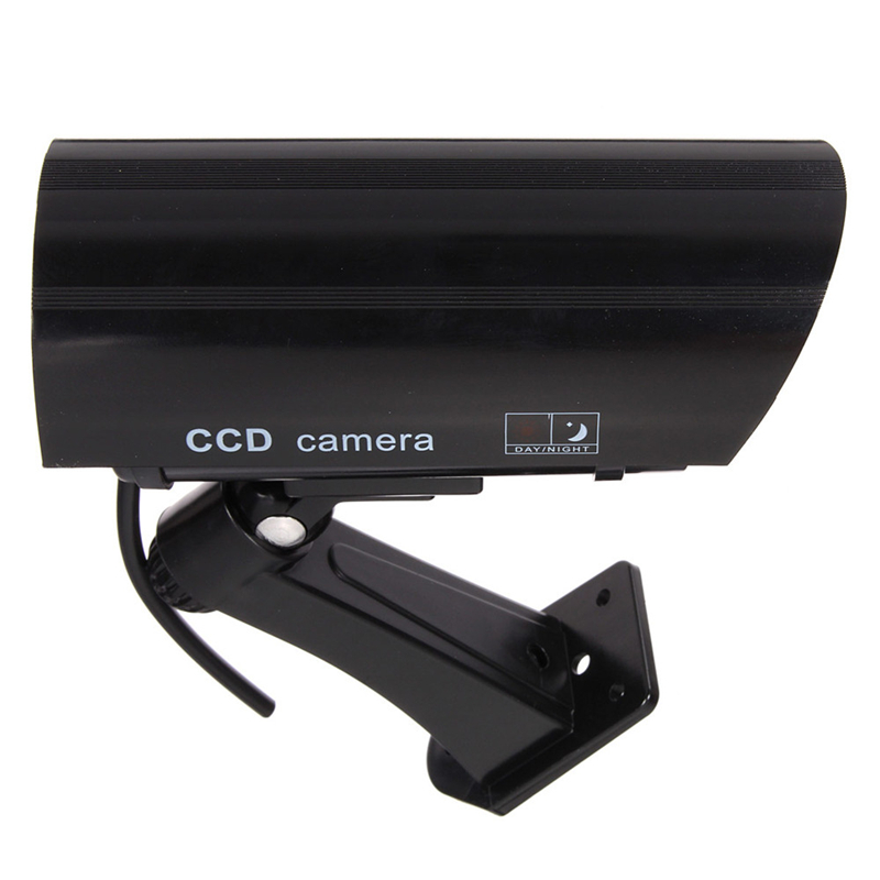 купить Dummy AA batteries IR Security Camera with Blinking LED and Realistic Wiring for Indoor / Outdoor Deter Theft / Robbery недорого