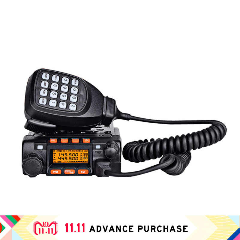 Qyt kt-8900 estación de radio de coche walkie talkie altavoces comunicador intercom transceptor caza FM doble banda UV