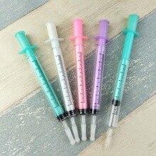 100 шт./лот,, рекламная новинка ручка, шариковая ручка в стиле шприца, доктор и ручка для медсестер, прекрасный подарок