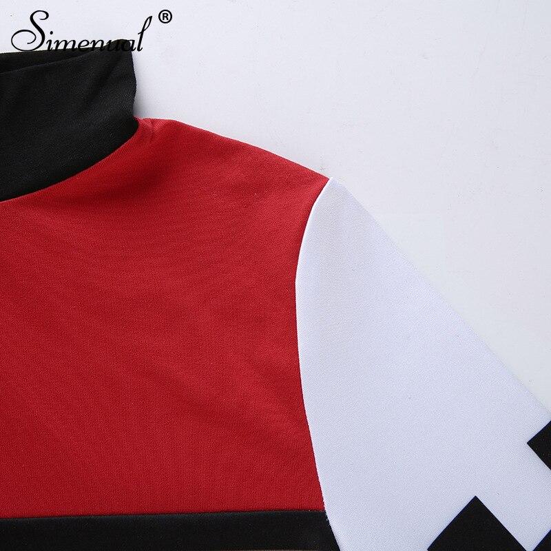 patchwork checkboard women t shirt (9)