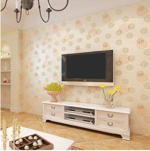 brand new romantic wedding house decor 3d dandelion wallpaper eco non woven flower wallpapers mural - Wallpaper House Decor