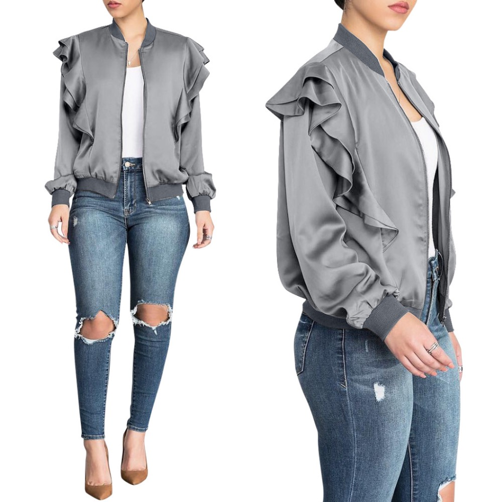 Jacket   Women   Basic     Jacket   Female Warm Coat Women Clothes Casual Feminino Coats Plus Size   Jacket   Outwear Zipper Lurex Thin   Jacket