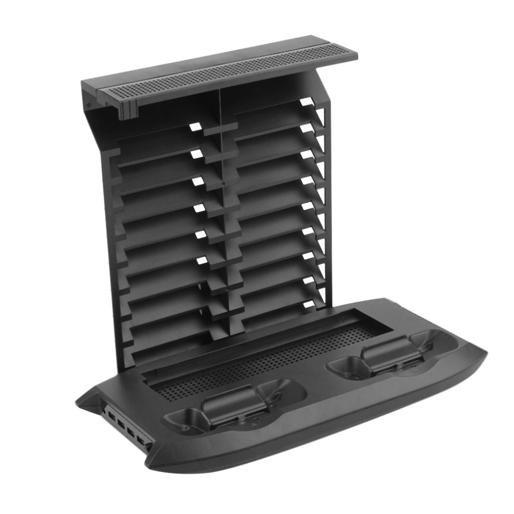 Cooling Fan Cooler Base Charger Disc Rack Set For XBOX