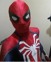 Newest Insomniac Spiderman Costume 3D Print Shade Spandex Insomniac Spider Man Costume Wholesale Movie Cosplay Comic