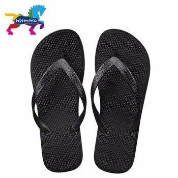Hotmarzz Homens Sandálias Mulheres Chinelos Unisex Verão Praia Flip Flops Designer de Moda Confortável Piscina Slides de Viagem 1