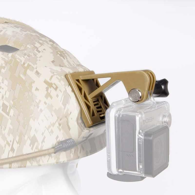 Тактический шлем фиксированный шлем для камеры подбородок кронштейн видеокамера велосипед Руль держатель для GoPro дробилка Охотничья винтовка камера крепление