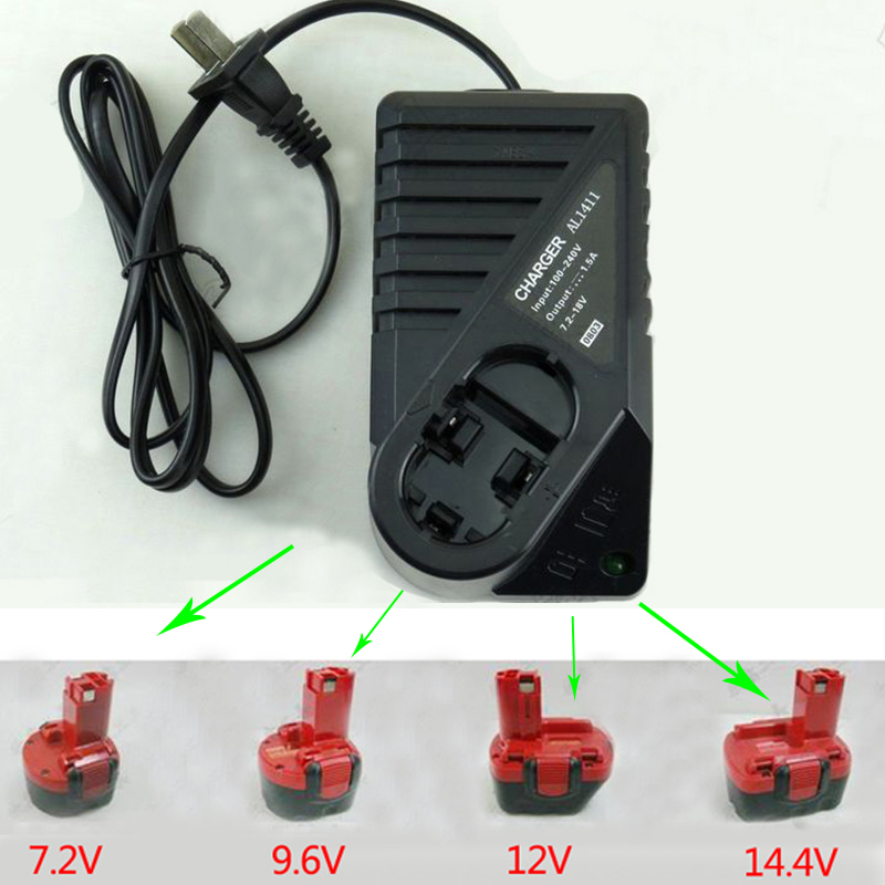 Ładowarka akumulatorowa 7,2 V ~ 14,4 V Do Bosch GSR7.2-2 GSR9.6-2 - Akcesoria do elektronarzędzi - Zdjęcie 4