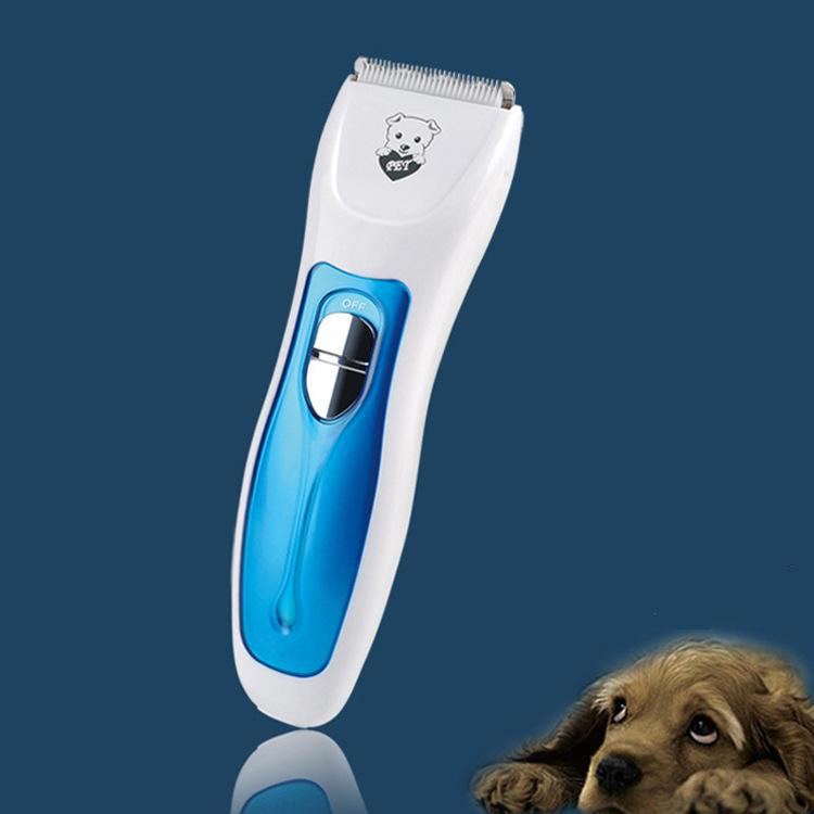 Professional Pet Home Rechargeable Pet Hair Trimmer Clipper Kit for Dogs & Cats with 4 Adjustable Hair Combs ceramic blade