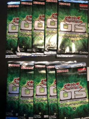 Yu Gi Oh Riginal American-English Supplemental Pack European Edition Competition Pack OTS10 OTS Tournament Pack 10