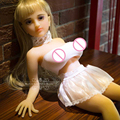 Mini Real Doll Cute Little Lolita 70cm Silicone Sex Doll Metal Skeleton Realistic Female Vagina Lifelike Real Love Doll