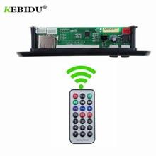 KEBIDU 5V 12V Bluetooth MP3 WMA FM AUX מפענח לוח אודיו מודול FM TF רדיו רכב רכב MP3 אביזרי רמקול לרכב