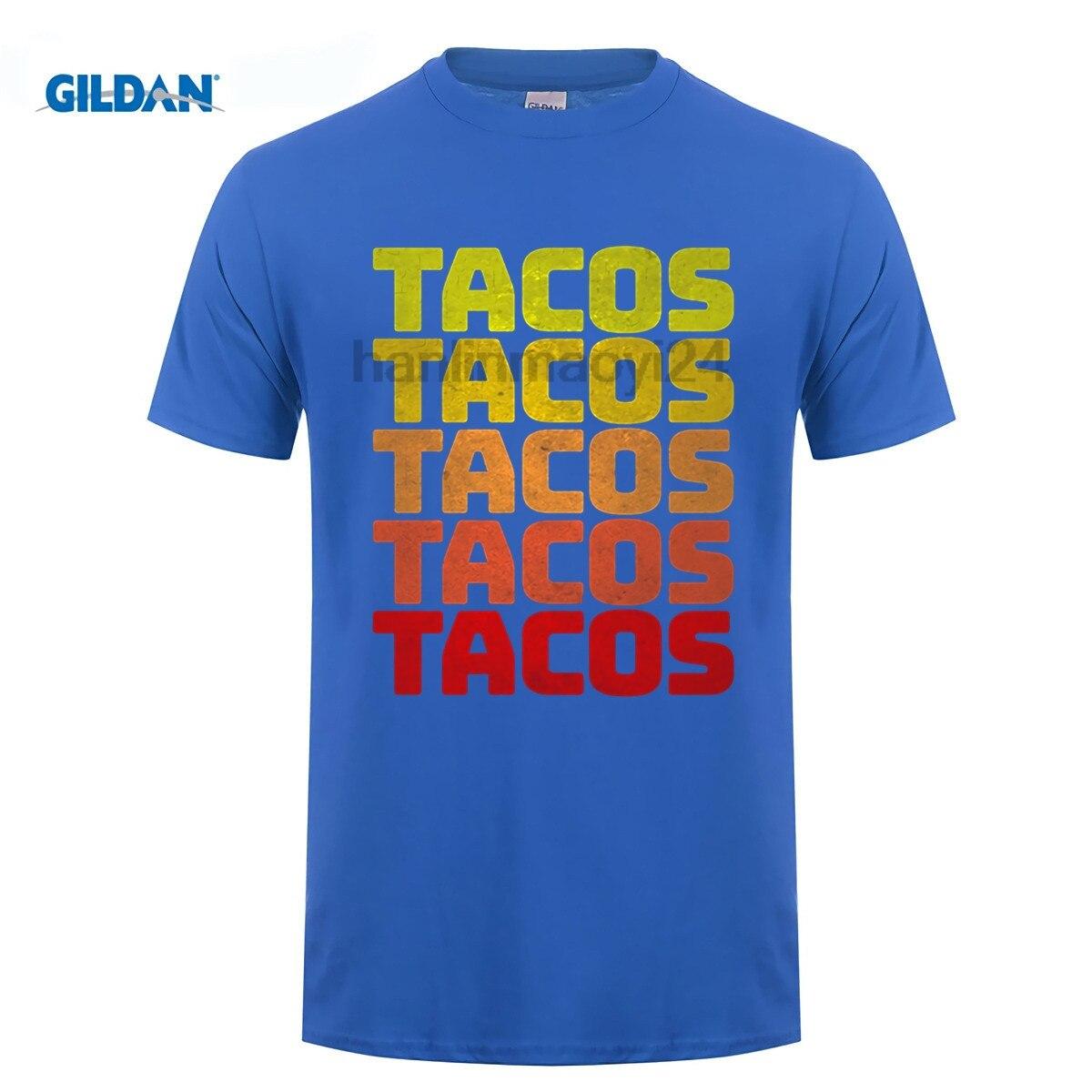 GILDAN Retro Taco Shirts Vintage Cinco De Mayo T-Shirt Tuesday ...