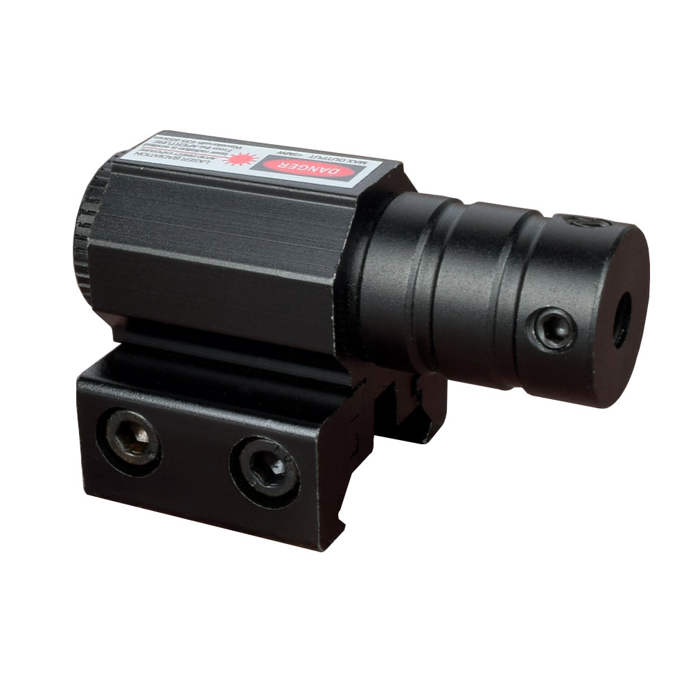 WIPSON 50-100M Range 635-655nm Red Dot Laser Sight Pistol Adjustable 11mm 20mm Picatinny Rail Hunting Accessory New