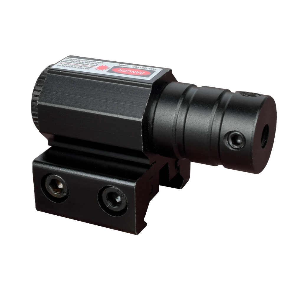 Wipson Krachtige Tactische Mini Red Dot Laser Sight Scope Weaver Picatinny Mount Voor Gun Rifle Pistol Shot Airsoft Riflescope