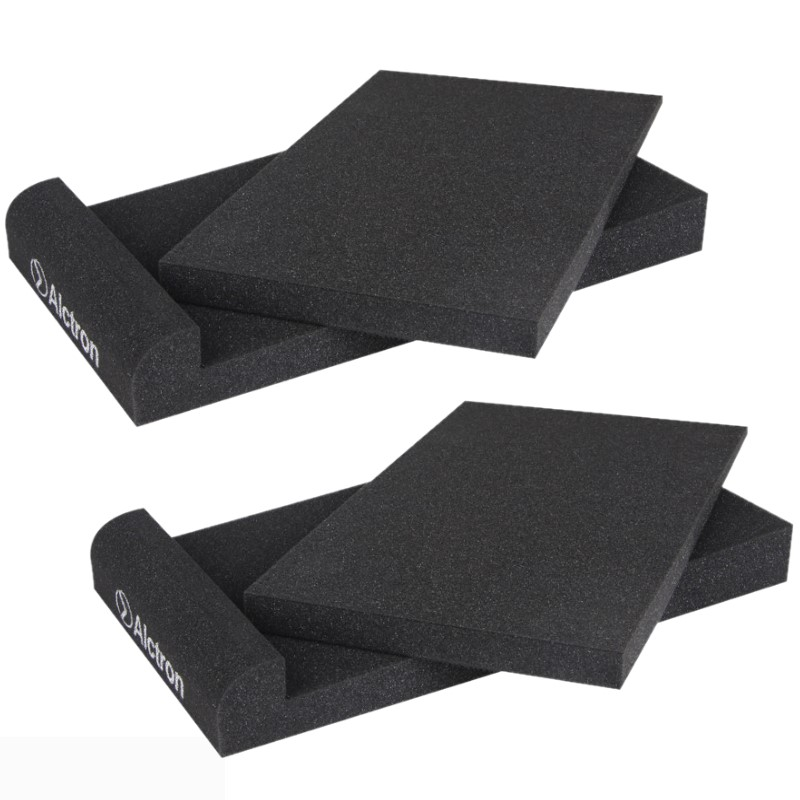 2pcs/set Alctron EPP05 Studio Monitor Speaker Acoustic Foam Shockproof Sound Isolation Pads For Studio Monitors 5/6.5/8 Inches