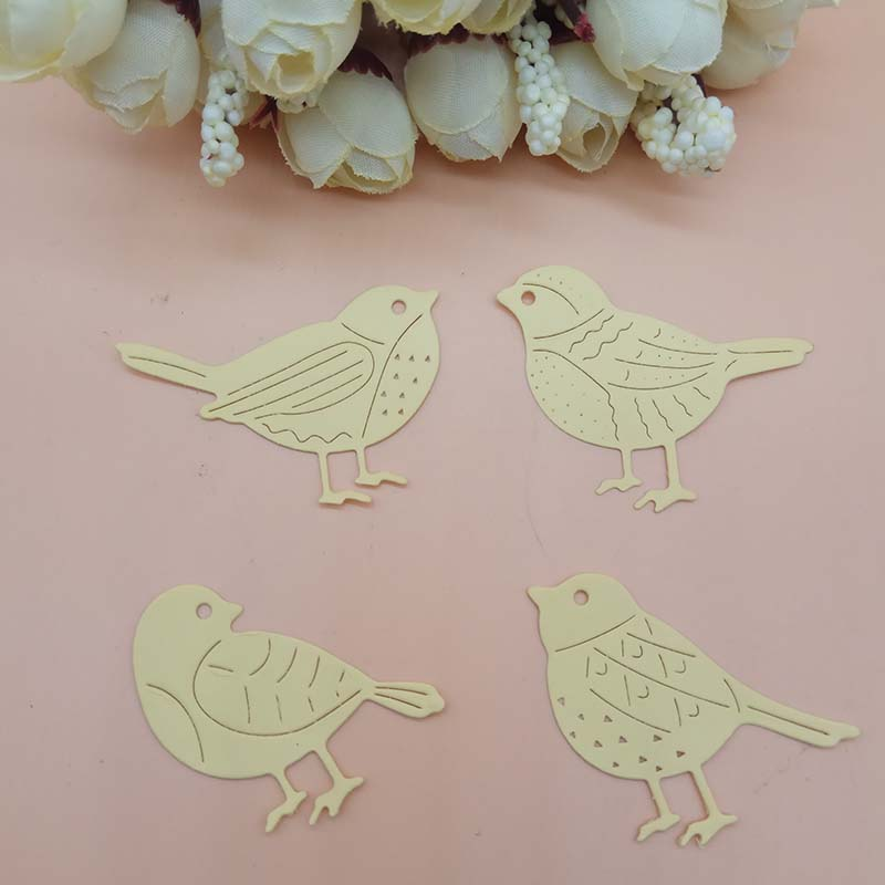 DIY crafts bird robin  cutting die cardmaking scrapbooking