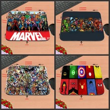2017 Scorching Promoting New Arrival Marvel Comics Superheroes Collage Custom-made Gaming Mouse Pad Pc Pocket book Non-Slip Mousepad