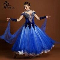 BALLROOM DRESS STANDARD COMPETITION MODERN WALTZ DANCE DRESS SIZE S M L
