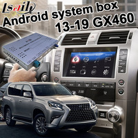 Android / carplay interface box for Lexus GX460 GX 2013 2019 video interface box with GVIF youtube waze yandex by lsailt