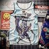 New 2018 Tank Top breathable summer fitness sleeveless leisure undershirt T-shirt, Match, 3D printing Pelicans men's vest 1909 2