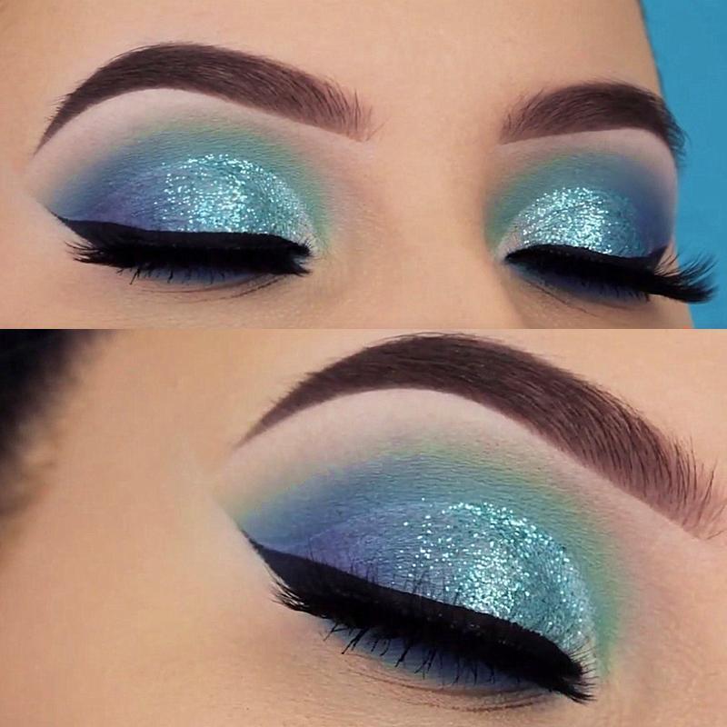 Shimmer Shine Eyeshadow Glitter Powder Lip Eyes Metallic Pigment