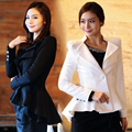 2016 Spring and winter women's plus size blazer temperament cultivating small suit