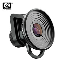 APEXEL HD 10X super macro lens micro lenses with universal clip for iPhonex xs max Samsung s9 Huawei all smartphone dropshipping(China)