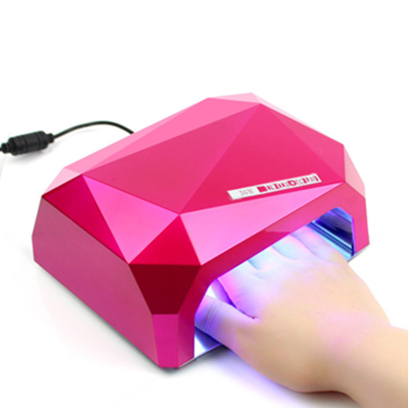 Free Shipping 36W LED+CCFL Nail Art Lamp Nail Dryer can Cure all UV and LED Gel Nail Polish Nail Tools new pro 48w nail lamp manicure dryer fit uv led builder gel all nail polish nail art tools sun5 professional machine