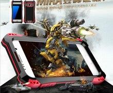 New Armor King Case For Galaxy S7 edge Waterproof Case For Samsung Galaxy S7 Aluminum Waterproof Shockproof Carbon fiber Case