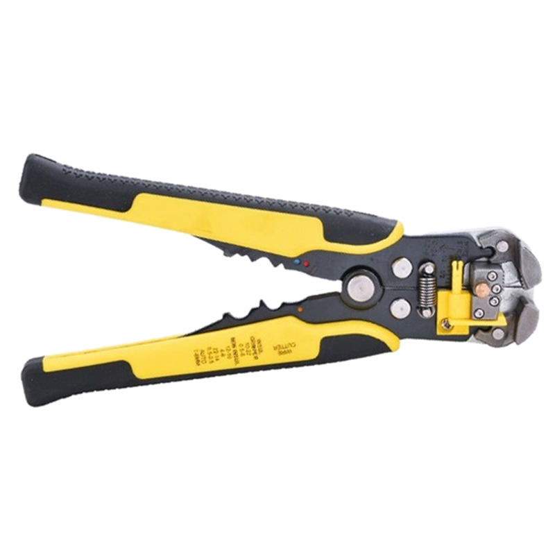 Handwerkzeuge Aktiv Nützliche Einstellbare Automatische Abisolierzange 0,5-6,0mm Gelb Werkzeuge
