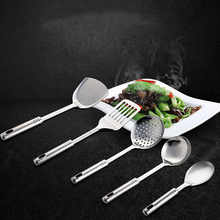 5 stücke Qualitäts-edelstahl-kochgeschirr Set Löffel Spatel Sieb Kochen Werkzeuge Set Einfache Küche Werkzeug