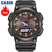 Casio Watch Outdoor Sports Solar Multifunction Casual Men's Watch AQ-S810W-8A цена