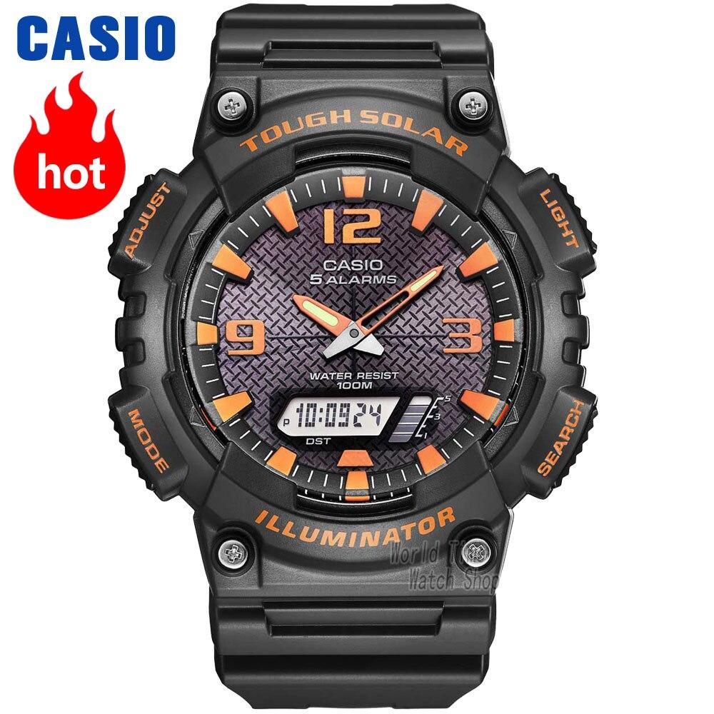 Casio montre Analogique Hommes de quartz montre de sport décontracté tendance montre pour étudiant AQ-S810