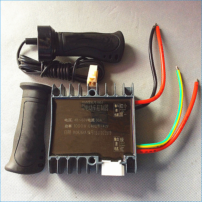 Home Improvement Motor Controller Trustful Electric Tricycle Brush Motor Controller,60v 1000w Brush Motor Controller,electric Tricycle Accessories,free Shipping J15233 Dependable Performance