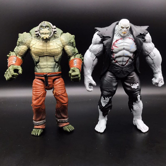 DC koleksiyon vakti Killiercorc vs Solomon Grundy gevşek Action Figure