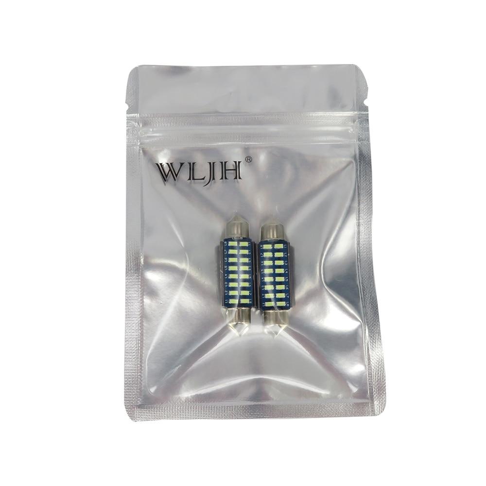 WLJH 2pcs CANbus LED 36mm C5W լամպ լամպի գրանցման - Ավտոմեքենայի լույսեր - Լուսանկար 6
