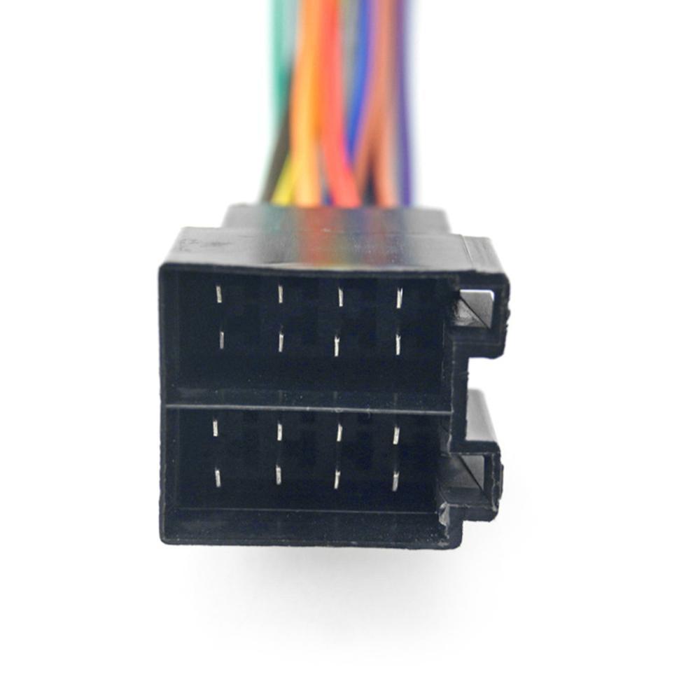 Универсальный адаптер питания для автомобиля штекер ISO разъем радио провод проводка кабель антенна радио жгуты адаптер для автомобиля стер...