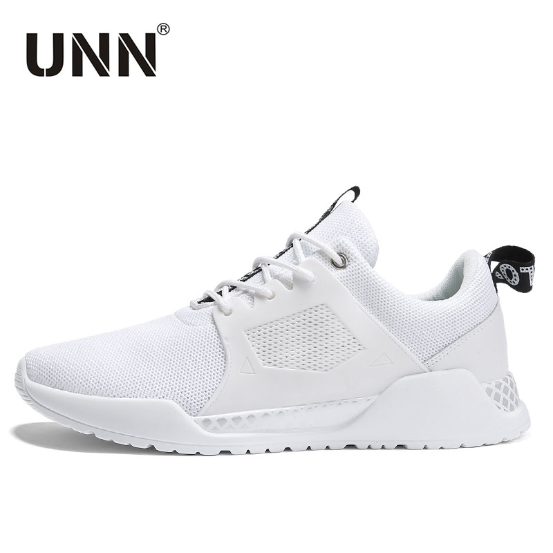 UNN Running Shoes For Man Lightweight Summer Outdoor Sports Shoes Men Black Comfortable White Sneakers chaussure Sport homme
