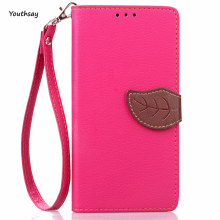 For Lenovo A5000 Leather Case P001 Leaf Wallet Case for Lenovo A 5000 Stand Shockproof Soft Flip Cover Phone Shell Card Holder
