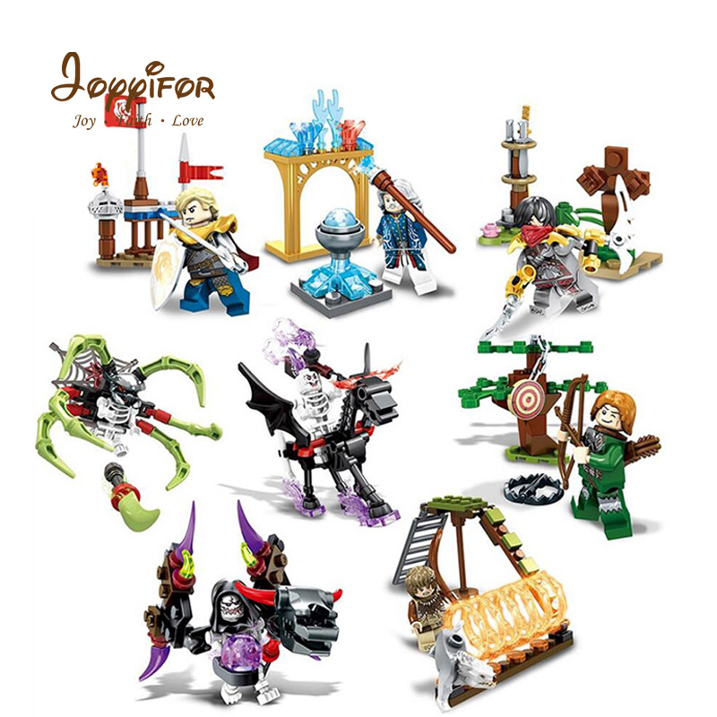 Model Building Joyyifor 142pcs Pirate Of The Caribbean Skeleton House War Skull Guard Cannon Building Block Legoinglys For Children Kids Toys