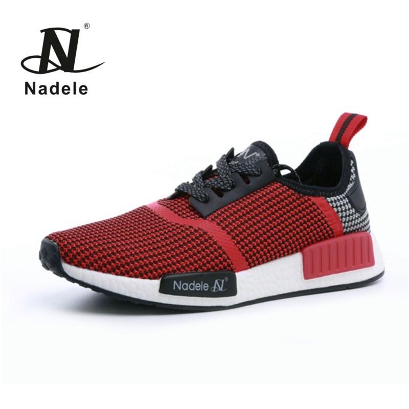 Nadele amantes de lona zapatos corrientes de las mujeres zapatillas de deporte l