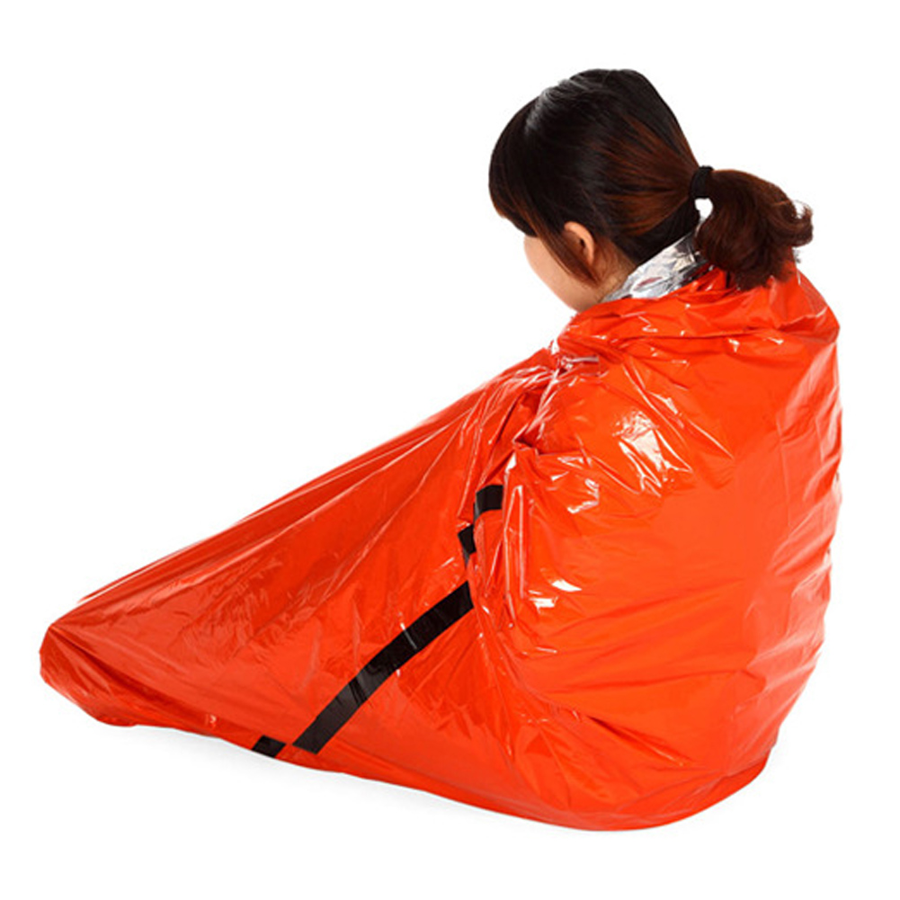 Emergency Survival Foil Thermal Camping Blanket Rescue First Aid Sleeping Bag