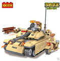 COGO 13333 Military Series Armoured car tank 278pcs Building Block Sets Educational DIY Bricks Toys
