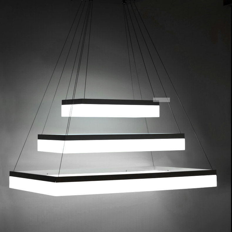 Free shipping Modern LED pendant light for living room bedroom dinning room Acrylic home decoration pendant lamp fixtures